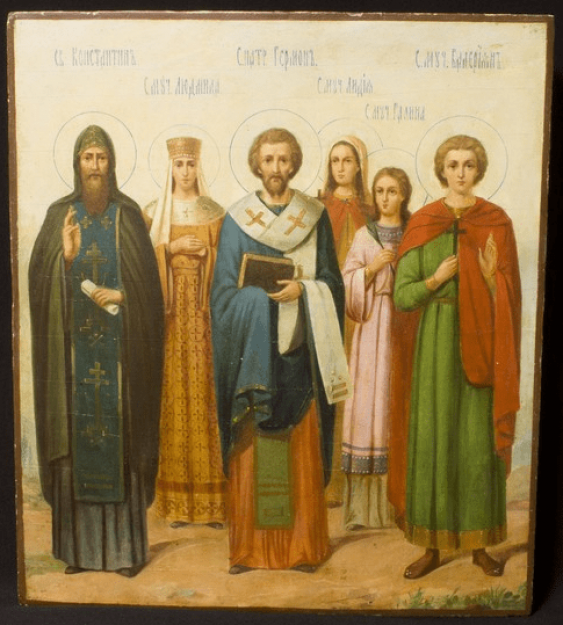Icon Of The Synaxis Of The Holy, - photo 1