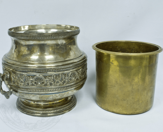 Pots silver Weight: 788 g. - photo 2