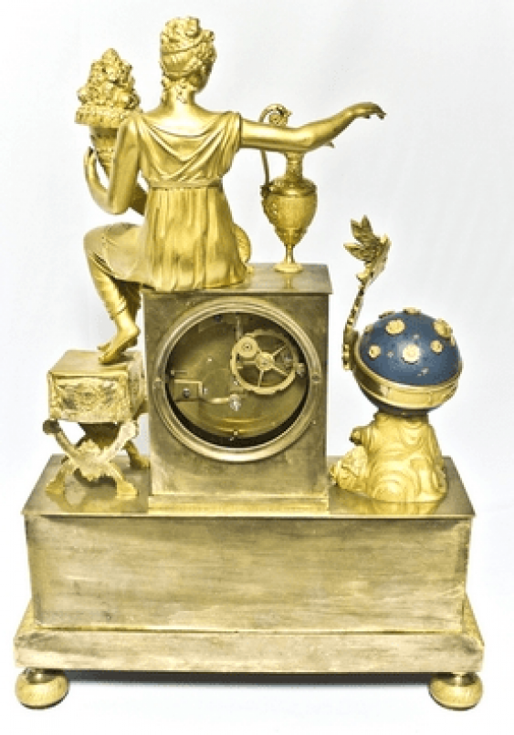 "Mantel clock ""the Science of the 19th century - photo 3"
