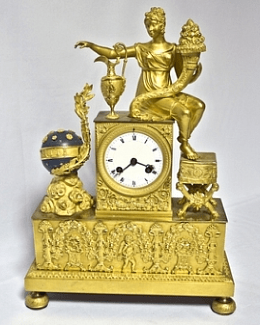 "Mantel clock ""the Science of the 19th century - photo 1"