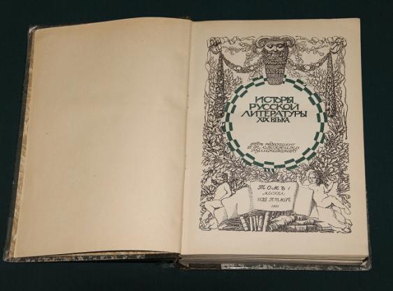 История русской литературы XIX века. 1911 г. - фото 5