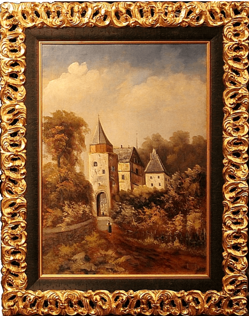 A pair of paintings by Holland, 1880 - photo 2