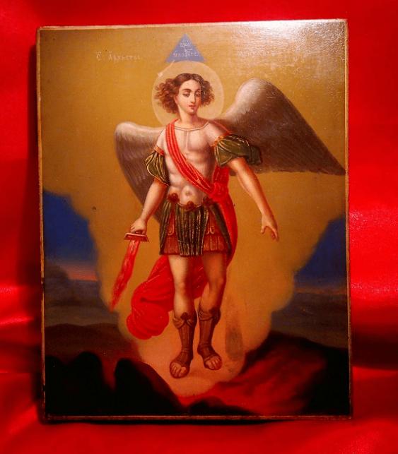 The icon of Archangel Michael, 19th century - photo 1