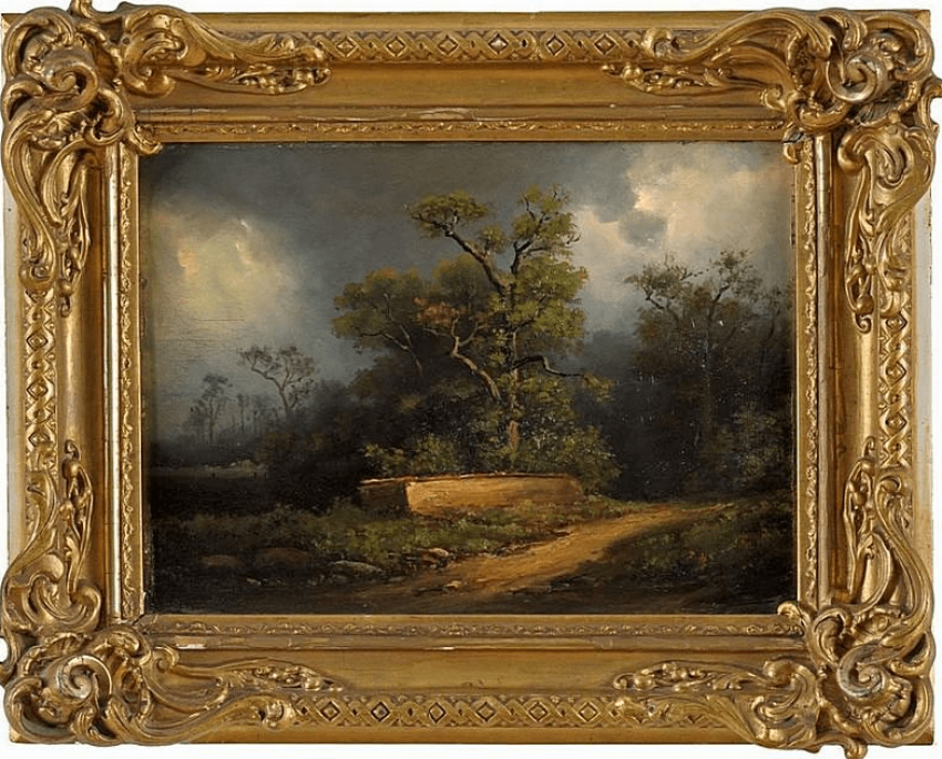Forest way, Germany, XIX century - photo 1
