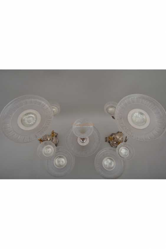 Set silver with crystal - photo 3