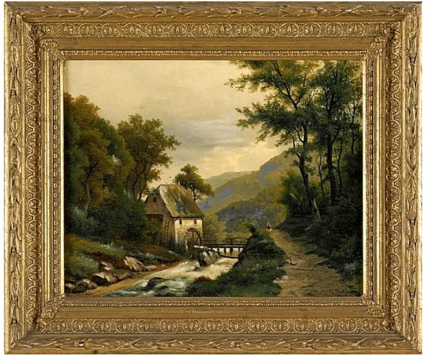 L'allemagne, la fin du XIXE siècle.auteur: Édouard Hine - photo 1