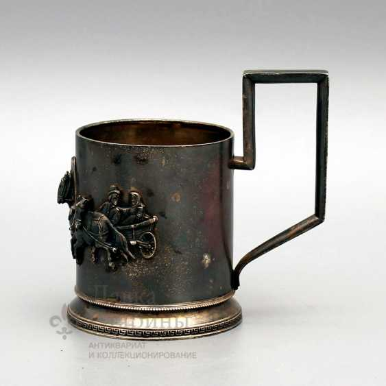 "Holder ""Russian Troika"", Russian, late 19th, early 20th century, silver 84 samples - photo 2"