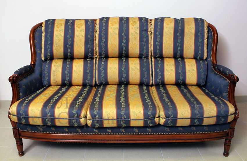 Set of upholstered furniture - photo 4