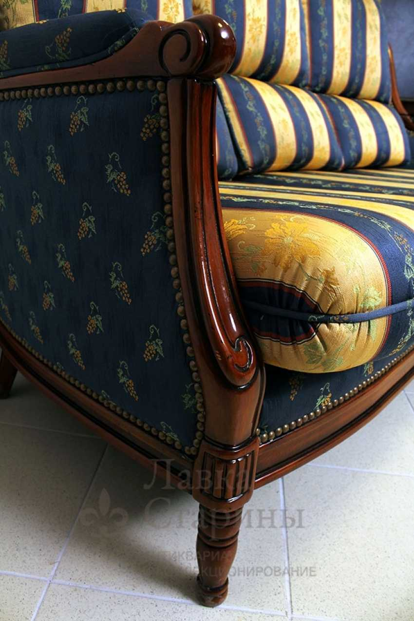 Set of upholstered furniture - photo 7