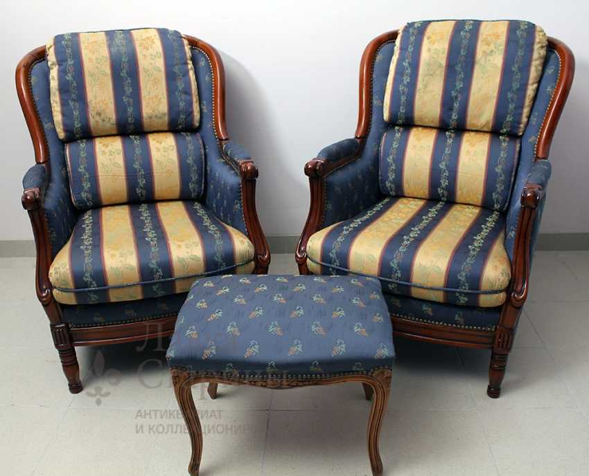 Set of upholstered furniture - photo 2