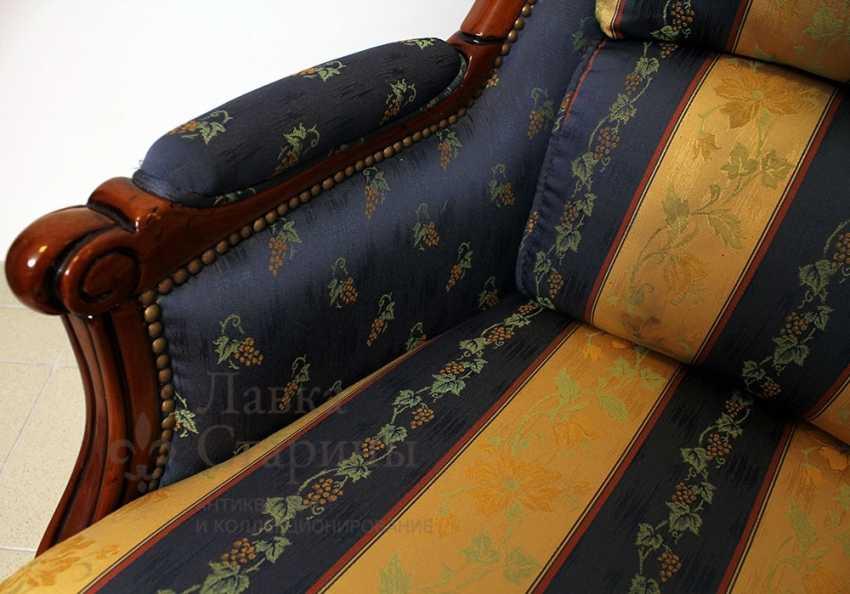 Set of upholstered furniture - photo 6