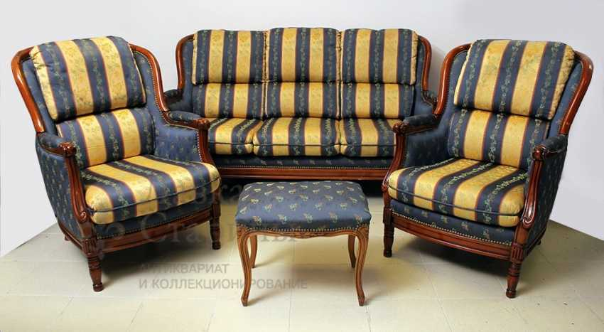 Set of upholstered furniture - photo 1