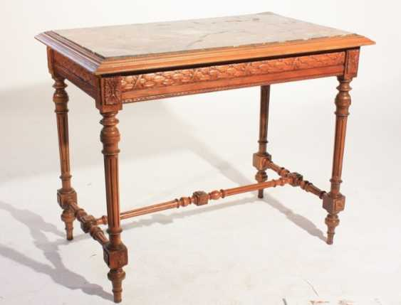 Table with stone top - photo 2