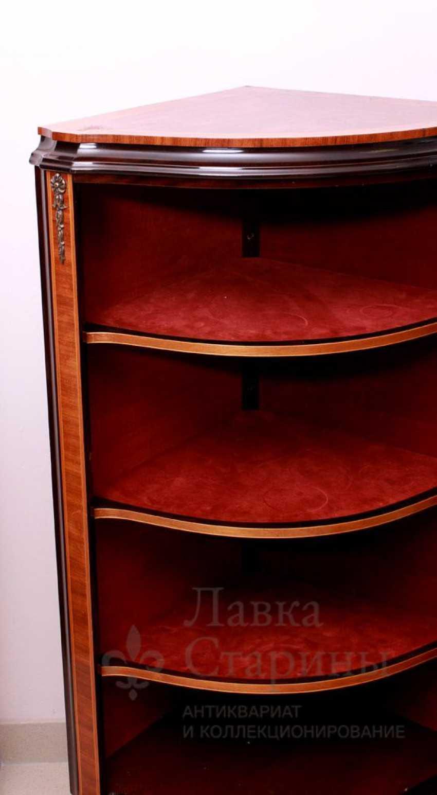 Showcase c, stacked pattern, mahogany, marquetry - photo 3