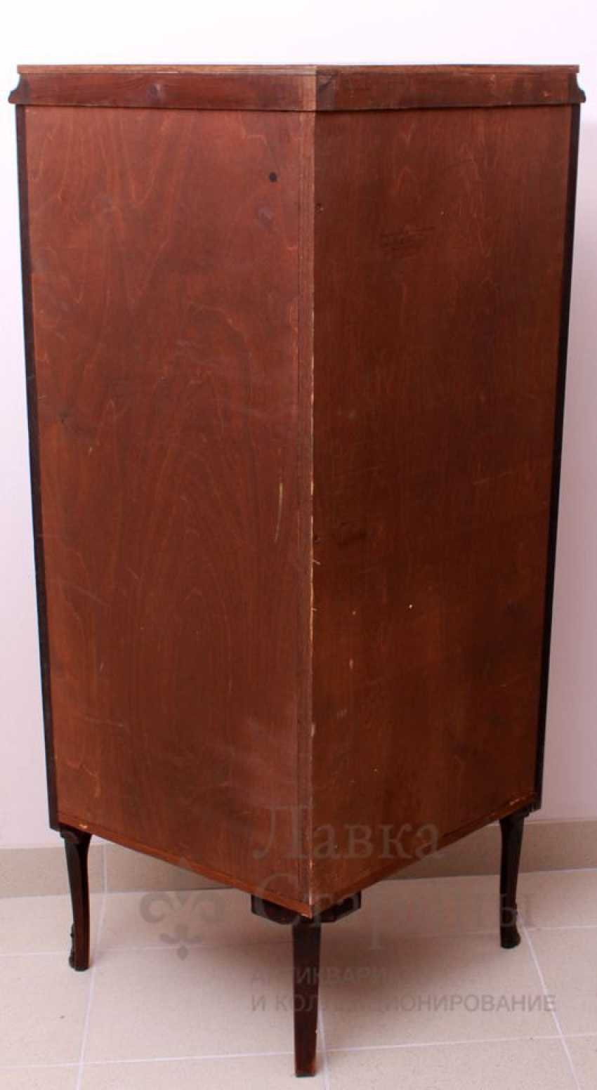 Showcase c, stacked pattern, mahogany, marquetry - photo 7