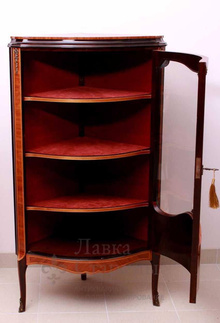 Showcase c, stacked pattern, mahogany, marquetry - photo 2