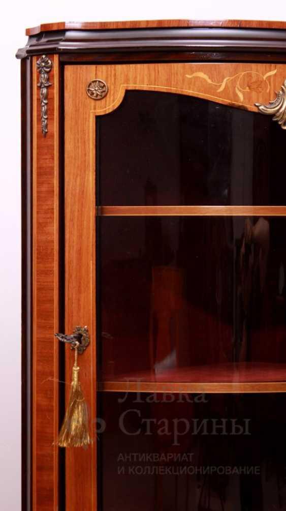 Showcase c, stacked pattern, mahogany, marquetry - photo 4