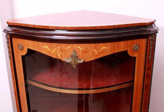 Showcase c, stacked pattern, mahogany, marquetry - photo 5