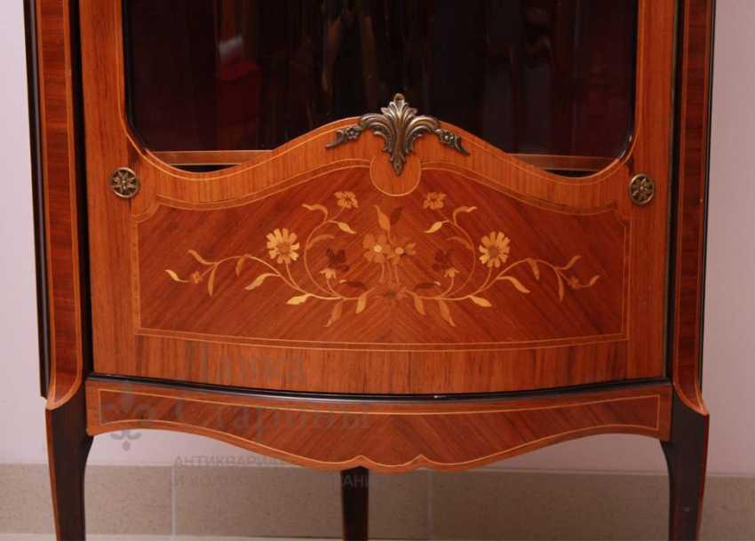 Showcase c, stacked pattern, mahogany, marquetry - photo 6