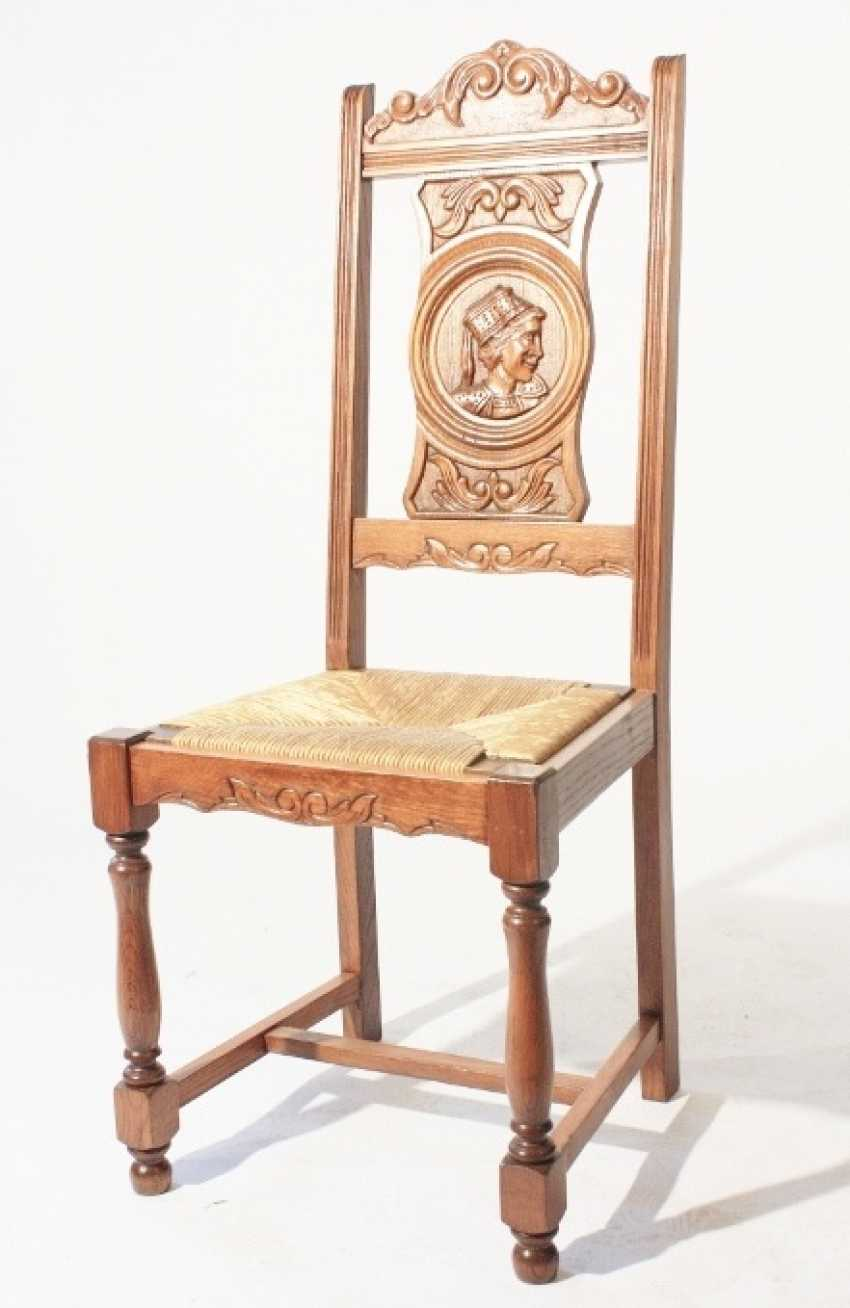 Set of 6 chairs - photo 2