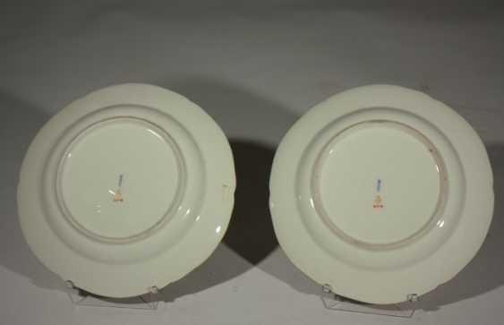 Pair of KPM plates 19th century - photo 3