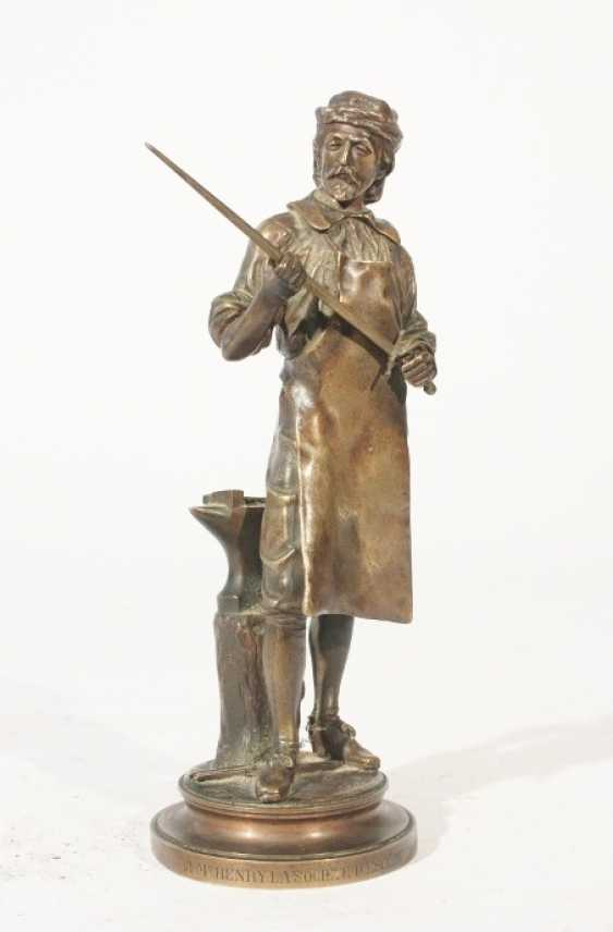 Bronze figure of A M Henry - photo 1