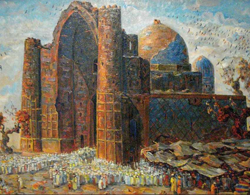 """The Mosque Of Khoja Ahmad Yassavi"" - photo 1"