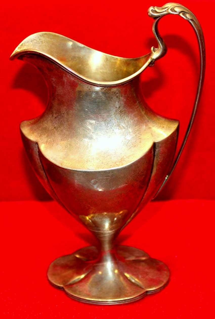 Silver jug of the NINETEENTH century - photo 1