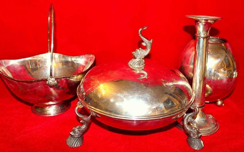 Silver service CLARTE twentieth century - photo 1