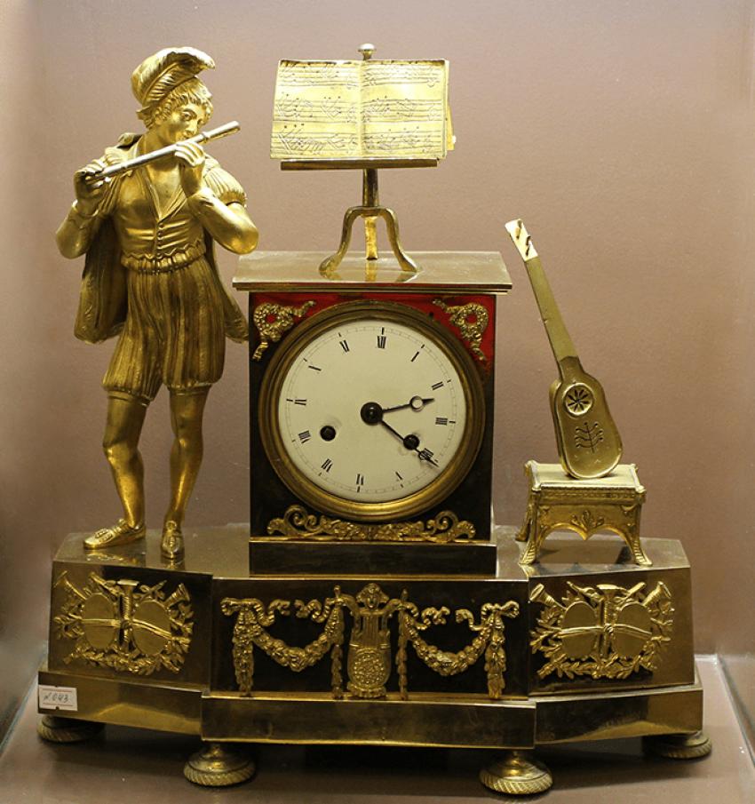 Mantel clock.France, XIX century. - photo 1
