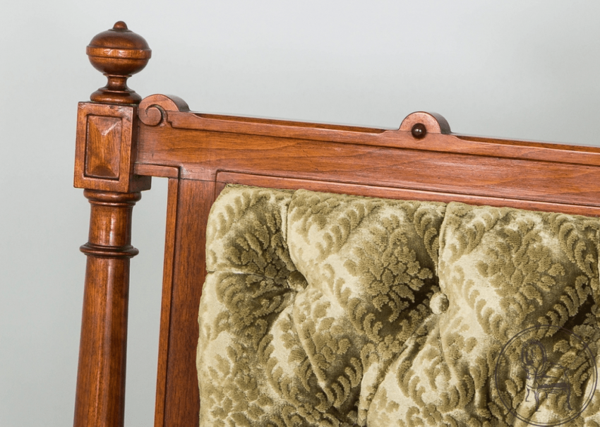 Vintage sofa, settee,twentieth century - photo 3