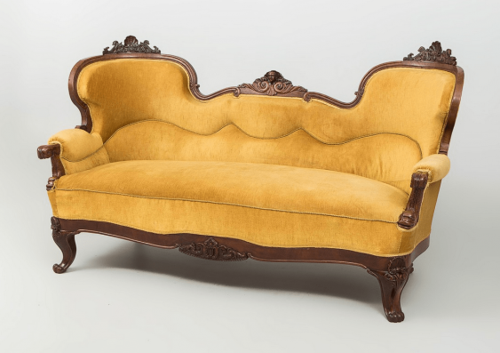Antique chaise longue of the nineteenth century, - photo 2