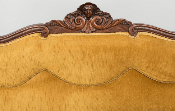 Antique chaise longue of the nineteenth century, - photo 3