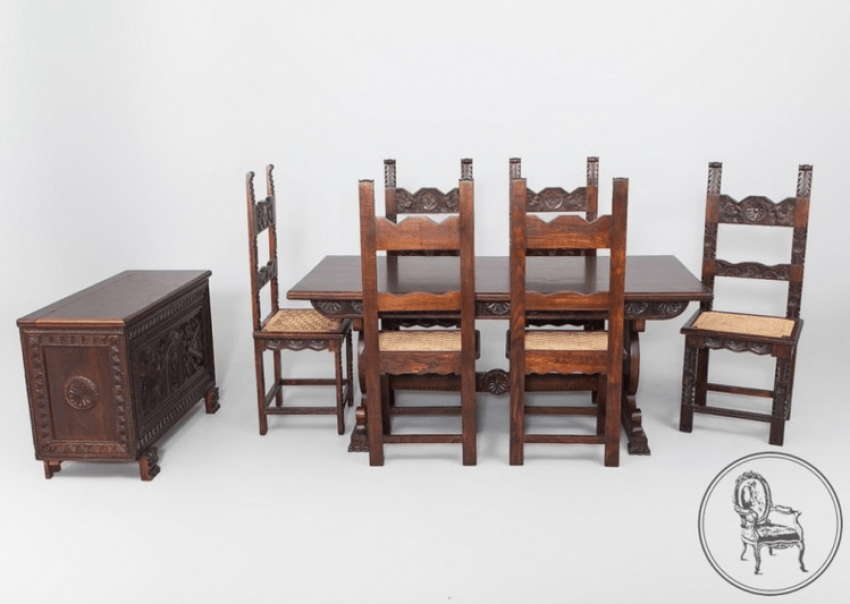 dining room set mubaligh in - photo 1