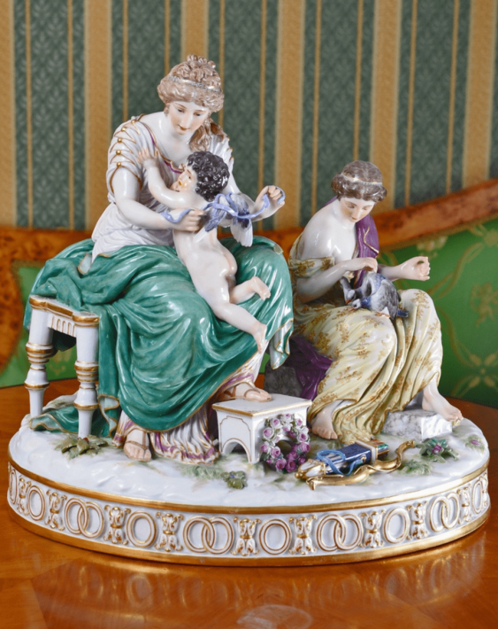Meissen, Germany second half of the XIX century, the author H. G. Wheter - photo 1