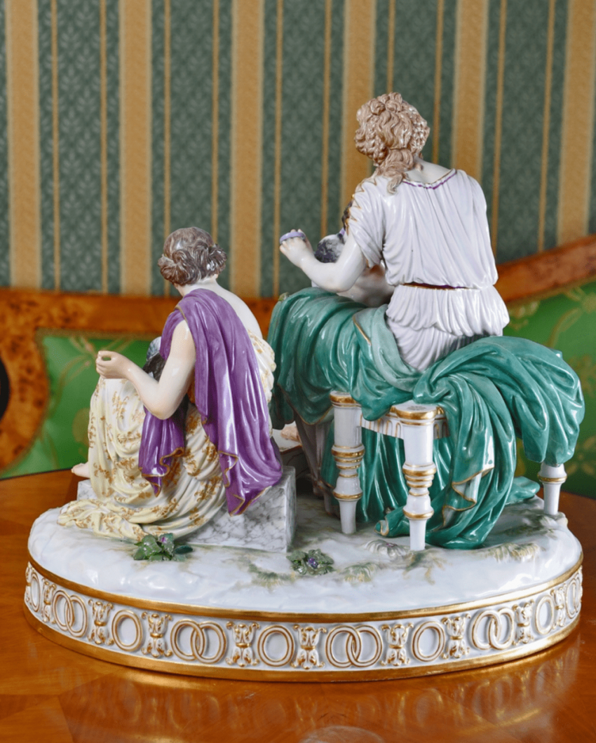 Meissen, Germany second half of the XIX century, the author H. G. Wheter - photo 2