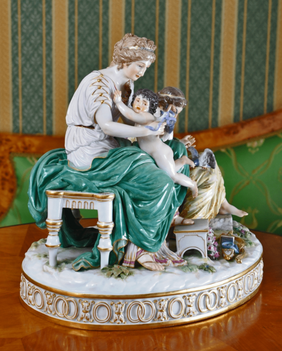 Meissen, Germany second half of the XIX century, the author H. G. Wheter - photo 3