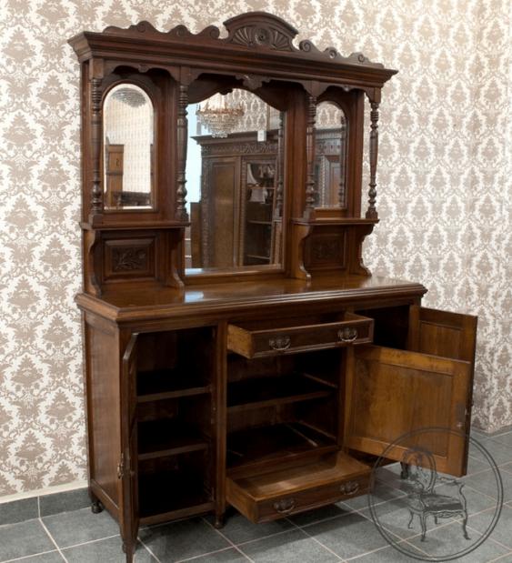 Vintage cupboard in the twentieth - photo 2