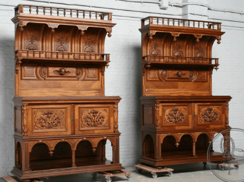 Antique cupboards (2 PCs.) XX in - photo 1