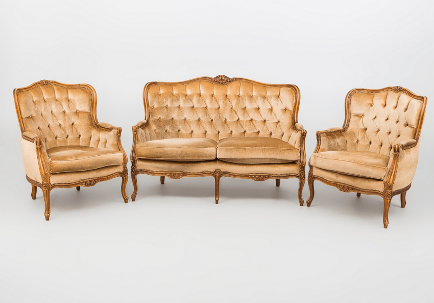 Set for the living room of the twentieth century, - photo 1