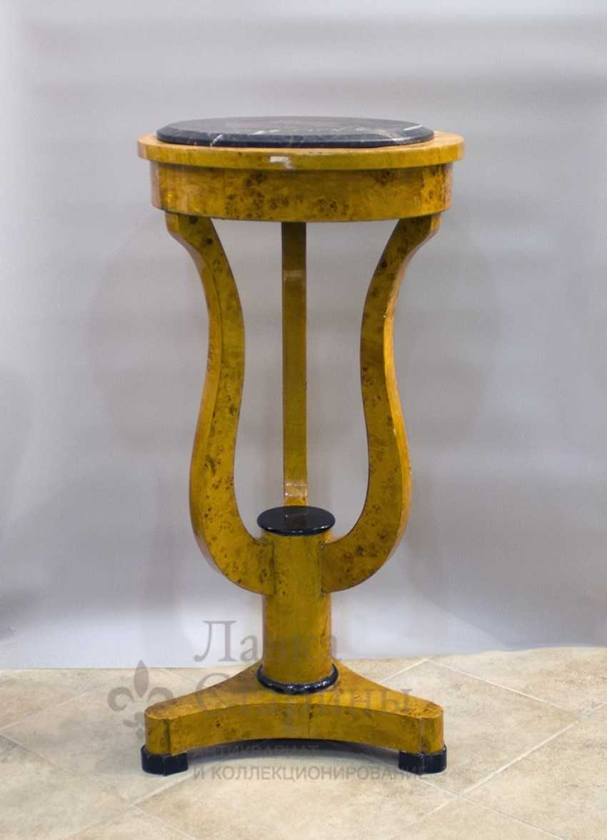 Antique console made of solid birch - photo 2