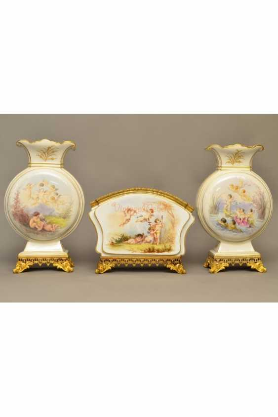 The set of three vases France in 19 - photo 3