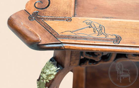 Antique table XIX century - photo 4