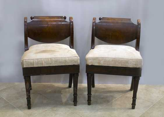 Pair of chairs - photo 1