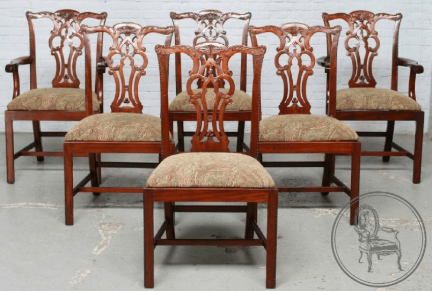 Dining room set of furniture of the XX century - photo 3