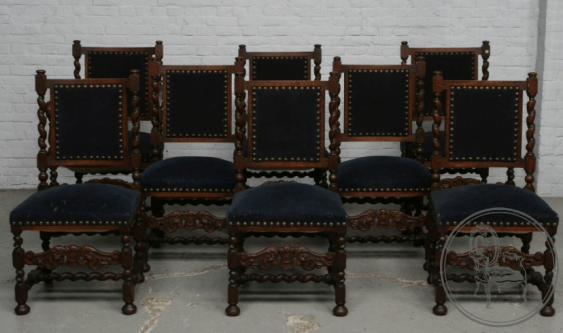 dining room set of furniture of the XX century - photo 4