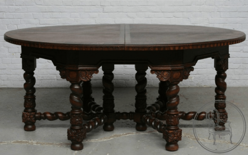 dining room set of furniture of the XX century - photo 5