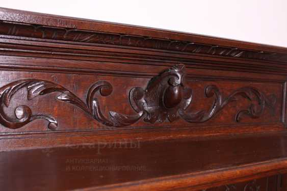 Antique cupboard with marble top - photo 8