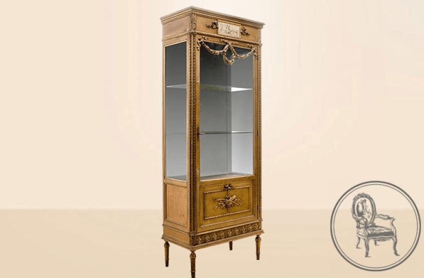 Antique showcase of the XIX century - photo 1