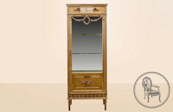 Antique showcase of the XIX century - photo 2